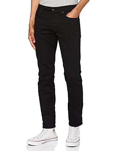 SELECTED HOMME Shnslim-Leon 1001 St JNS Noos Jeans Slim, Nero (Black), W28/L32 (Taglia Produttore: 28) Uomo