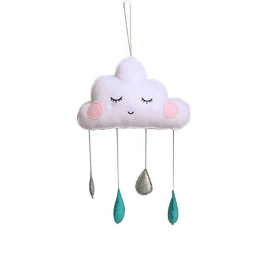 Guangcailun Bebé Niños Que cuelgan Nubes Flet la Gota del Agua de la decoración Nubes Decoración Carpa decoración del Sitio de niños Tienda Partido Prop