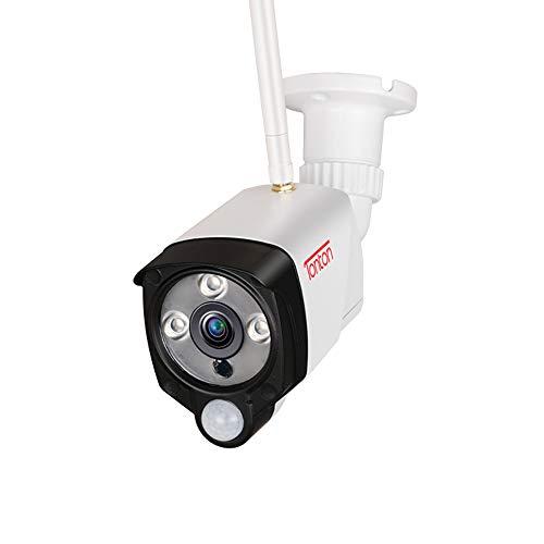 【PIR Sensor+Zwei Wege Audio】 Tonton Full HD 1080P WLAN Überwachungskamera Außen 2.0MP Funk Kamera für NVR System, 30M Klare Nachsicht PIR Sensor Metallgehäuse (Verwendet als Ersatzkamera/IP Camera)