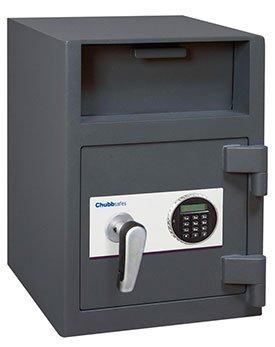 ALD36 - 1E CHUBBSAFES Tresor Einwurftresor Deposittresor Elektronikschloss spezifische Geldkassette OMEGA £3k 10 mm Stahl Tür BOLTWORK ANTI-FISHING Gerät 24 L 54 kg