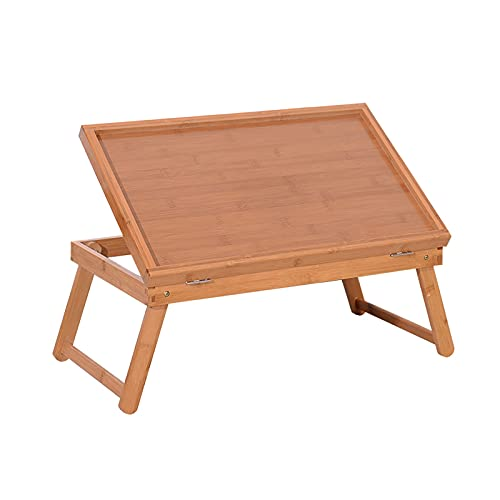 Mesas de café Mesa de comedor ajustable superior con patas plegables, mesa de bandeja para sofá trabajando, cama, comer, sencillo de ensamblar la bandeja de refrigerios de escritorio para computadora