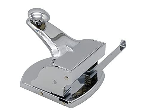 Preisvergleich Produktbild Kornet & Hahn Locher Metall mit Anschlagschiene nicht elektrisch - groß fürs Büro