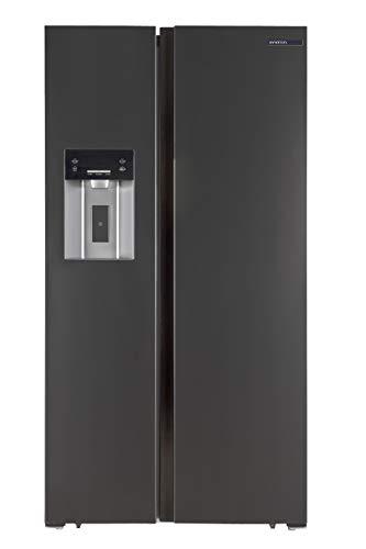 FRIGORIFICO COMBI AMERICANO SBS-490IMFA INFINITON (A+, Alto 178cm, NO FROST TOTAL, Dispensador de agua y Picador de hielo, 552 Litros, FreshZone, Display LED)