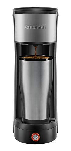 Chefman InstaCoffee Single Serve Coffee Maker...