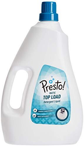 Amazon Brand – Presto! Matic Top Load Detergent Liquid – 2 L