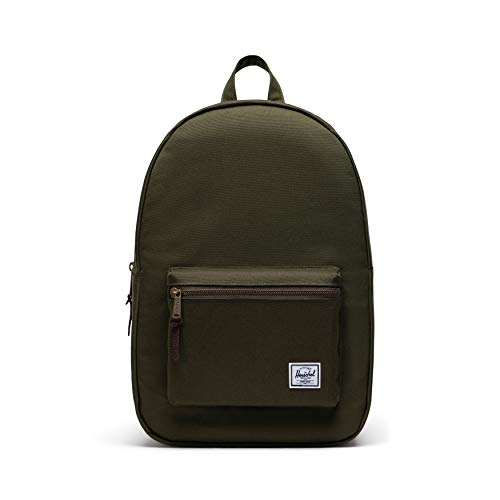 Herschel Settlement Backpack, Ivy Green/Chicory Coffee, Classic 23.0L