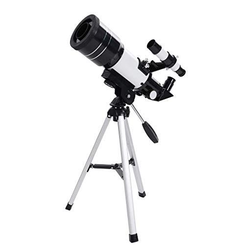 LFDHSF Telescopio, Monocular HD de Alta Potencia, Visión Nocturna 150 Veces, Alcance monocular de Prisma con trípode para observación de Aves Camping Caza Vida Salvaje Viaje