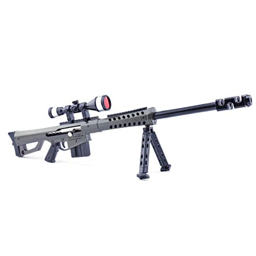 mankecheng Games M82A1 Metallfigur für Scharfschützen-Gewehr-Modell-Action-Figur, Kunstspiele, Sammlung, Geschenk