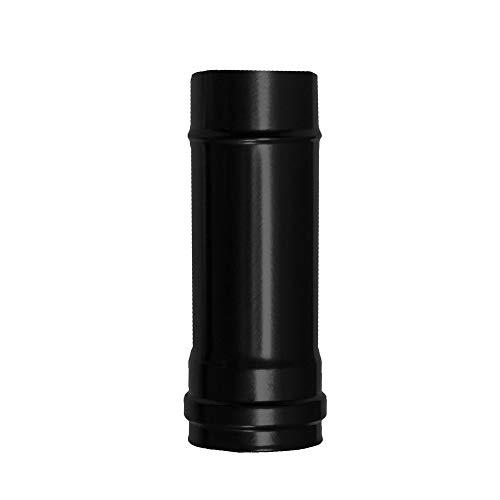 Wolfpack 22013010–Tubo Stufa pellet vitrificado, diametro 80mm, 25cm