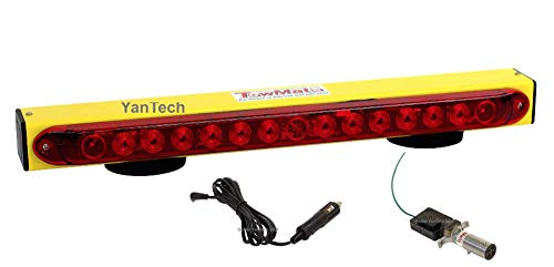 22' Wireless LED Tow Light Bar Yellow'Sun Light' TM22Y with Red Stop/Tail/Turn Signal Lights