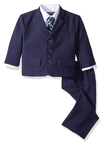Gino Boys G230 Navy Blue Suit Set from Baby to Teens (12 Months)