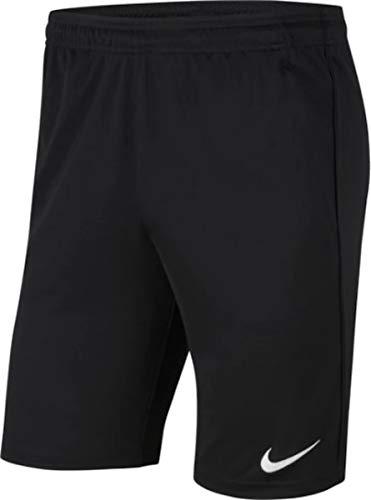 Nike Mens Park 20 Knit Short, Black/Black/White, M