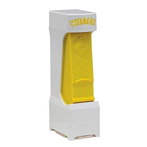 AHPONEX Cortador de Mantequilla de un Clic, dispensador de Mantequilla de Molino de Mantequilla de Acero Inoxidable, Utilizado en una cortadora de Queso Simple