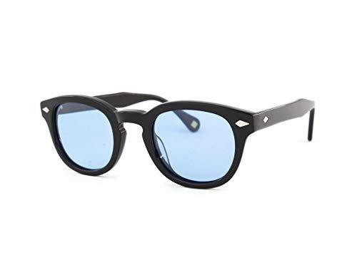 X-LAB occhiali da sole 8004 stile moscot Occhiali da sole uomo Unisex (Nero, Azzurro)