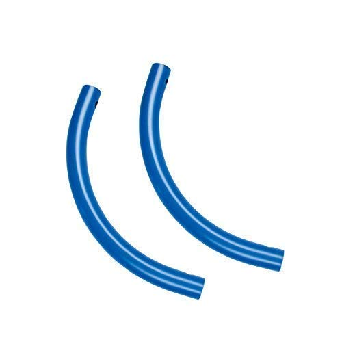 Moveandstic 2er Set Rohrbogen blau