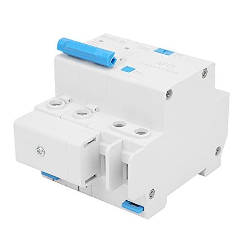Weikeya Arco Culpa Circuito Interruptor automático, Fácil a Usar Miniatura Circuito Interruptor automático Proteccion Circuito Interruptor automático Hecho de El plastico Culpa Arco Detección