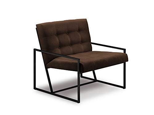 Windsor & Co Sessel, Galaxy, 1-Sitzer, braun, 82 x 77 x 78 cm