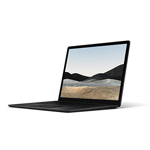 Microsoft Surface Laptop 4 Super-Thin 13.5 Inch Touchscreen Laptop (Black) – Intel 11th Gen Quad Core i5, 8 GB RAM, 512…