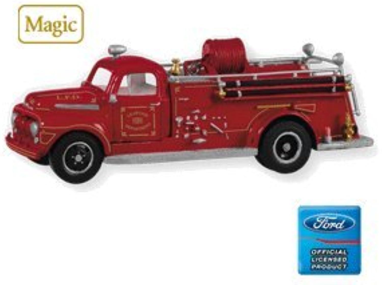 Hallmark 2010 1951 Ford Fire Engine Fire Brigade  8