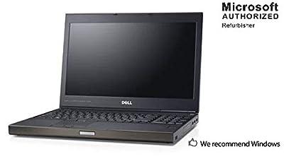 Dell Precision M4700 15.6 Inch Workstation Laptop, Intel Quad Core i7 3720QM up to 3.6GHz, 16G DDR3, 512G SSD, 1G DDR5 Video Card, WiFi, DVD, VGA, HDMI, Win 10 64 Bit Multi-Language-En/Fr/Sp(Renewed)