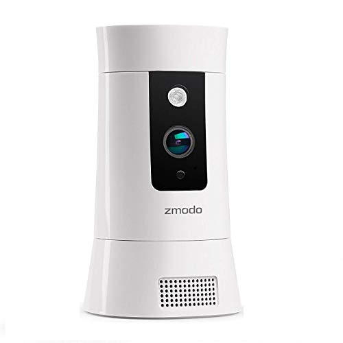 Zmodo 1080P IP Camera, WiFi Wireless Home Indoor Security Camera, with Pan/Zoom, Motion Tracker, Two-Way Audio, Activity & Sensor Alerts, Night Vision, Cloud Service Available - All-in-One Smart Hub
