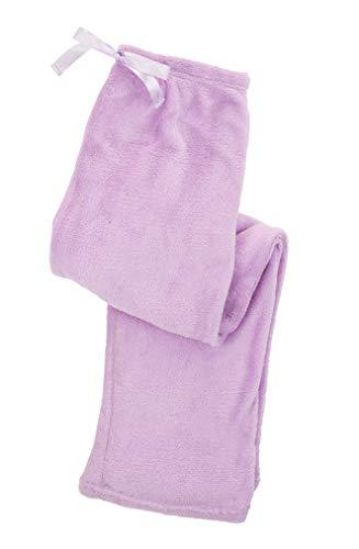 Wintery Dream Ladie's Fleece Lounge Pants - X-Large, Lavender