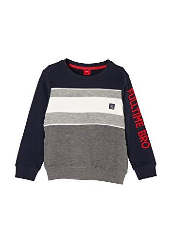 s.Oliver Junior Jungen 404.10.011.14.140.2054460 Sweatshirt, 5952, 104/110.REG