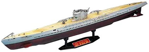 German Navy U-Boat IX B 1/150 Scale Motorized Diving Submarine Plastic Model Kit