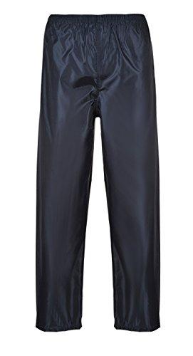 Portwest Pantalon de Pluie Unisex Classic, Couleur: Marine, Taille: 5XL, S441NAR5XL
