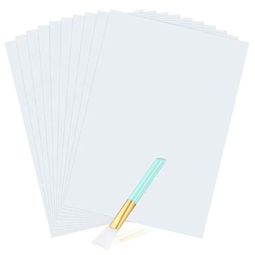 Hayes Wasserrutsche Aufkleber Papier wei/ß