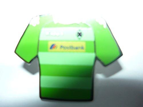 PIN ANSTECKNADEL - Fussball Bundesliga Borussia Möchengladbach Trikot 2013/14 Postbank Gr. 2,5cmx2,1cm