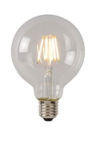 Lucide LED BULB - Glühfadenlampe - Ø 9,5 cm - LED Dim. - E27 - 1x5W 2700K - Transparent