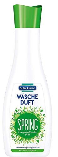 Dr. Beckmann Wäscheduft Spring, für frischen und langanhaltenden Duft, ohne Weichspüler und für alle Textilien geeignet (250 ml)