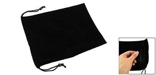 Andifany Funda Bolsa de Terciopelo con Cordon para 7' Android Tablet PC Mid Fire - Negro