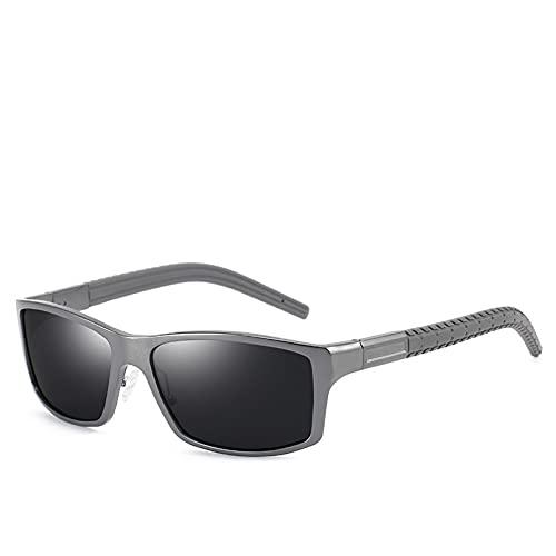 YUANCHENG Gafas de Sol Retro polarizadas para Hombres Gafas Deportivas Gafas de conducción