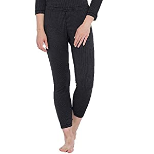 QNQ Monte Carlo Women's Cotton Thermal Bottom (Black) 8 31EV 3nrNWL. SS300