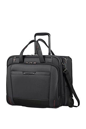 Samsonite Pro-DLX 5 - 17.3 Zoll Laptoptasche mit 2 Rollen, 48.5 cm, 37.5 L, Schwarz (Black)