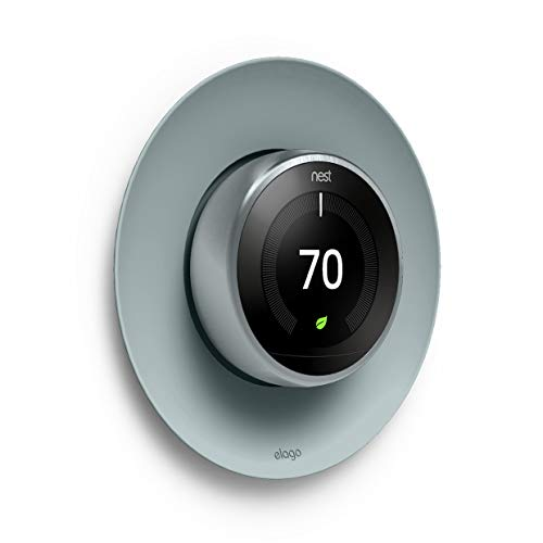 elago Satellite Wall Plate Cover Compatible with Nest Learning Thermostat 1st / 2nd / 3rd Generation (Mint Green)