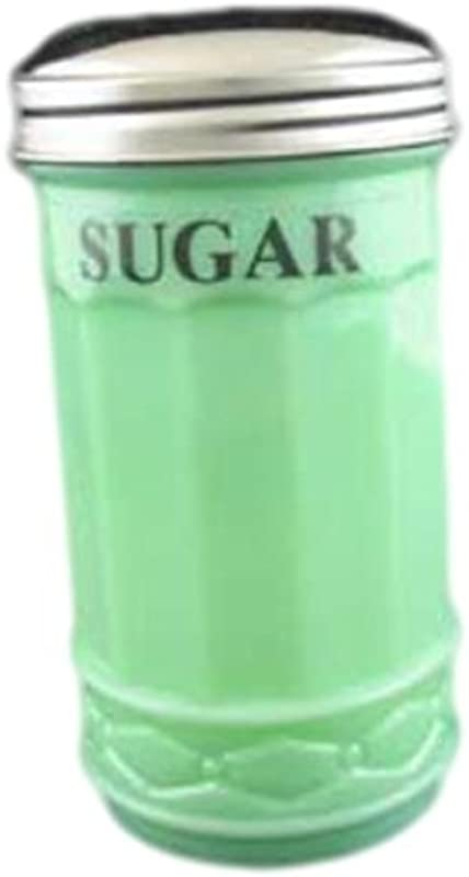 Jadeite Green Restaurant Style Sugar Shaker Dispenser
