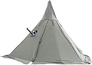TentHome 4-säsongs-tipi-tält med spisuttag, höjd 240 cm / 7,8 fot