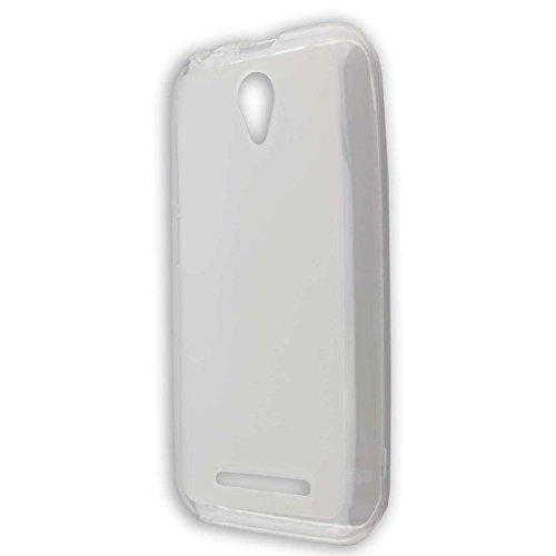 caseroxx TPU-Hülle für ZTE Blade L110, Handy Hülle Tasche (TPU-Hülle in transparent)