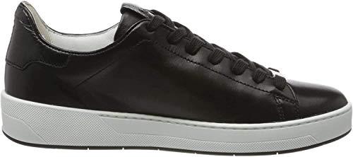 HÖGL Mädchen Essenza Sneaker, Schwarz (Schwarz 0101), 34.5 EU