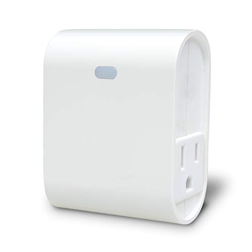 Z-Wave Plus Smart Light Dimmer Plug, Built-in Zwave Repeater/Range Extender, Zwave Hub Required, Works with SmartThings, Wink- ZW39