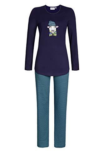 Ringella Damen Pyjama mit Schaf-Motiv Night 36 0511223P, Night, 36