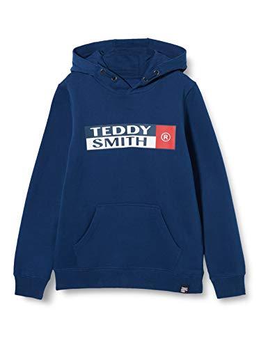 Teddy Smith 60805897d Felpa, Estate Blue, 8 Anni Bambino