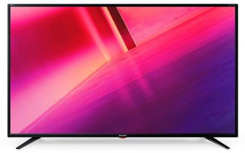 Téléviseur LED Ultra HD 4K 127 cm Sharp 50BJ3E - TV LED 4K 50 pouces - TV connecté / Smart TV - Netflix - Prise casque - Son 2 x 10 W