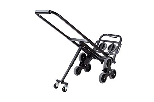 BLTPress Stair Climbing Cart Portable Climbing Cart 330 LBS Three-wheel Chassis Portable Stair Climber Hand Truck Heavy Duty with 6 Wheels