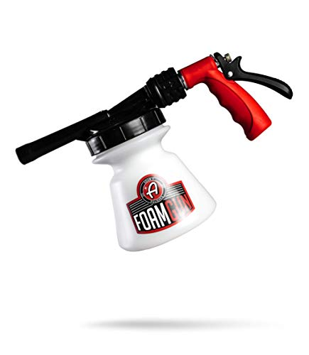 Adam's Standard Foam Gun - Car Wash & Car Cleaning Auto Detailing Tool Supplies | Car Wash Kit Soap Shampoo & Garden Hose for Thick Suds | No Pressure Washer Required | Car Detailing Tool