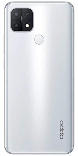 OPPO A15 Smartphone CPH2185 3GB+32GB Fancy White 4230mAh Large Battery Fingerprint Sensor 13MP AI Triple Rear Camera