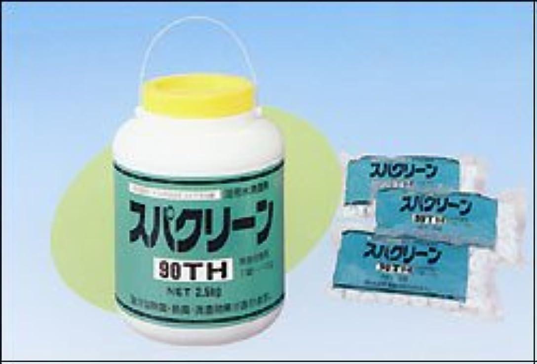 することになっている工夫する多分スパクリーン 90TH 2.5kg 浴用水精澄剤